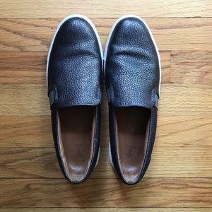 FRYE Ivy Pewter slip on sneakers - dark gray